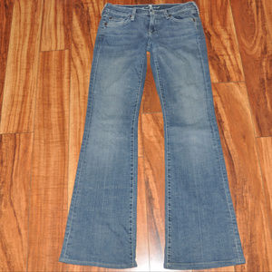 7 For All Mankind Flare jeans stretch size 26 EUC